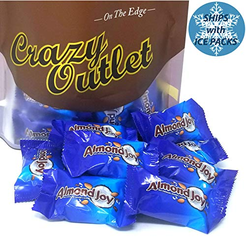 CrazyOutlet Pack - Almond Joy Miniatures Bite Size Chocolate Candy Bars, Milk Chocolate Coconut Almonds, 2 ()