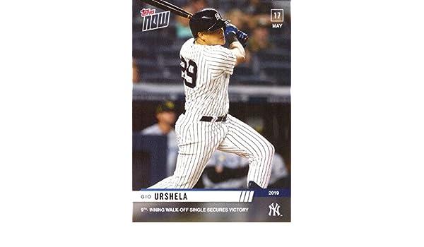 Amazon com: 2019 Topps Now #242 Gio Urshela Baseball Card