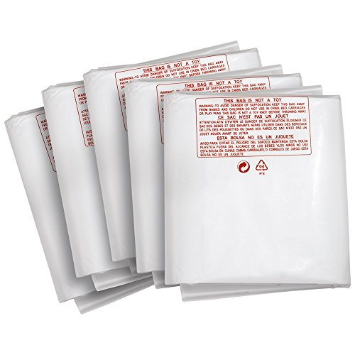 Clear Dust Collector Bags - 3