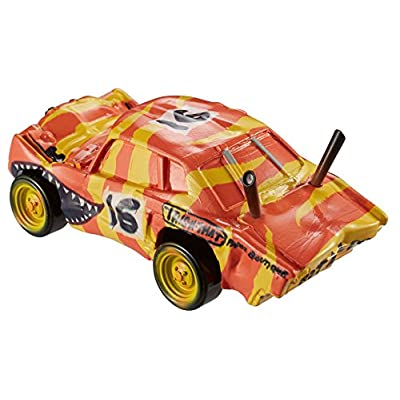 Disney Pixar Cars Die-cast Push Over Vehicle: Toys & Games