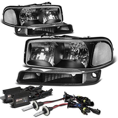 yukon headlights black - 2