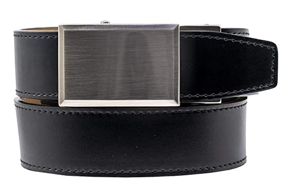a1659d02d39523 2019 Shield V.3 Black Leather Golf Belt for Men with Adjustable ...