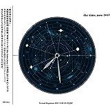 the time, now 2017 -太陽系時空間地図 地球暦 H.C. 2017.03.20-2018.03.20-