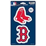 "MLB Boston Red Sox WCR62437014 Magnets (2 Pack), 5"" x 9"""