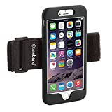 TuneBand LITE for iPhone 8 PLUS Premium Sports Armband with Silicone Skin and Armband (BLACK)