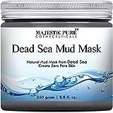 Majestic Pure Dead Sea Mud Mask, Spa's Premium Quality Facial Cleanser, 8.8 Oz