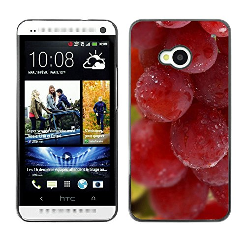 Soft Silicone Rubber Case Hard Cover Protective Accessory Compatible with HTC ONE M7 2013 - Plant Nature Forrest Flower 65