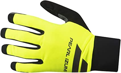 Pearl Izumi Men/'s Escape Softshell Lite Bike Gloves Yellow//Black Extra Large