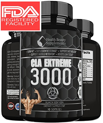 EXTREME-CLA-FAT-BURNER-Fast-Acting-CLA-Fat-Burning-Supplement-Top-Rated-Extra-Strength-Formula-Ensures-You-Will-Lose-Weight-Fast-Fat-Burner-For-Men-Women-Muscle-Phase-by-HBS-Solutions