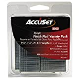 AccuSet A409809 Variety Pack 16 Gauge Straight