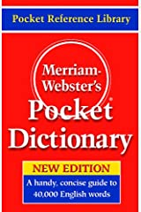 Merriam-Webster's Pocket Dictionary Kindle Edition