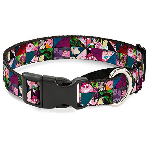 Buckle-Down Martingale Dog Collar - Alice in Wonderland Kaleidoscope Scenes - 1