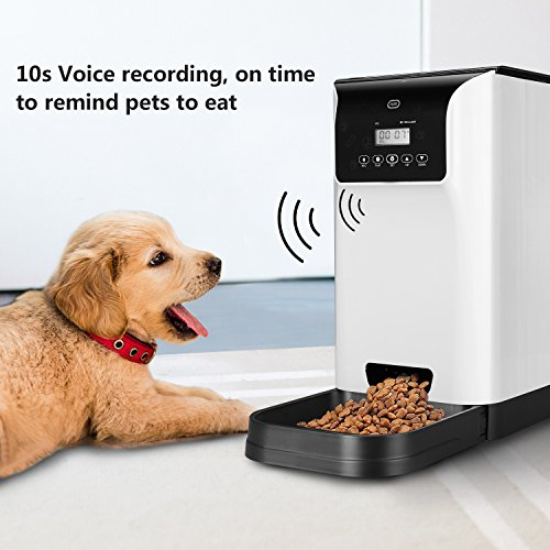 review automatic petpal feeder pet wifi feeders