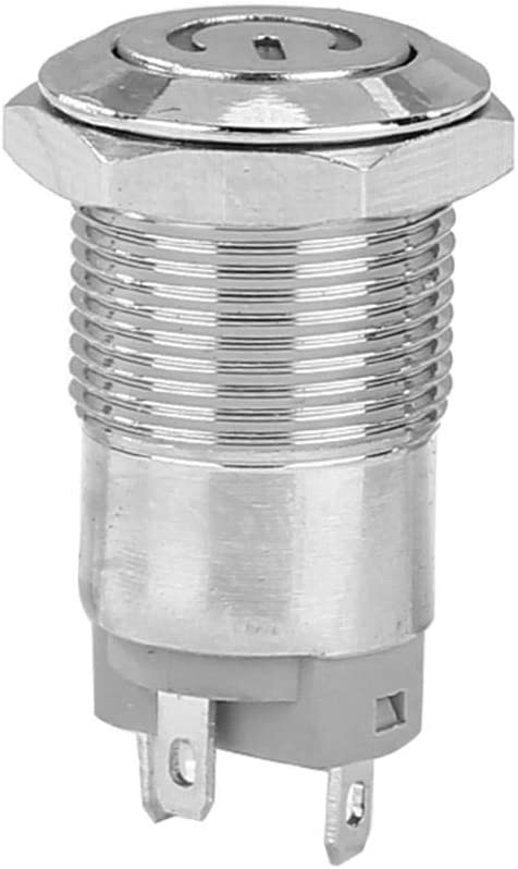 acciaio Green 25.00 * 14.00 * 14.00 12 mm con LED 3 V 5 V 6 V 12 V 24 V 220 V alto rotondo metallo pulsante interruttore momentaneo auto reset impermeabile interruttore illuminato