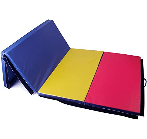 Amazon.com : BestMassage Gymnastics Mats 4x8x2 Exercise Mat ...