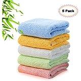 Kyapoo Bamboo Baby Washcloths Natural Towels Ultra Soft...
