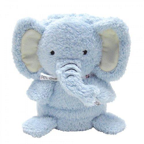 My Pet Blankie - Babydecke Kinderdecke Schmusedecke - Kuscheldecke für Kinder in vielen tollen Tier-Designs - Größe: 70 x 100 cm (Elliot der Elefant)