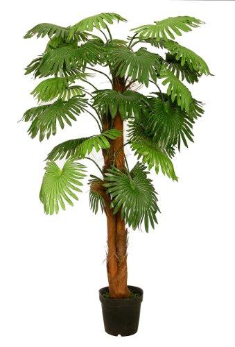 Fächerpalme XL Kunstpalme 1,80 m Kunstbaum Kunstpflanze