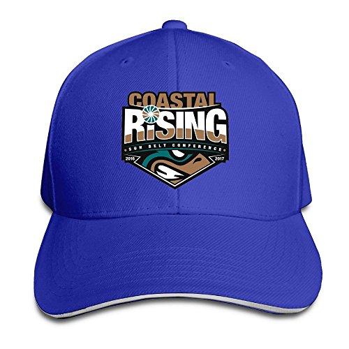 Price comparison product image Acmiran Coastal Carolina University Personalize Sandwich Baseball Caps One Size RoyalBlue