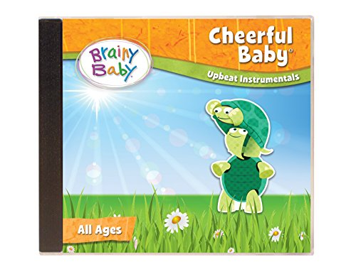 CHILDREN'S MUSIC CD Cheerful Baby - Upbeat Instrumentals for Preschool Children by Brainy Baby®