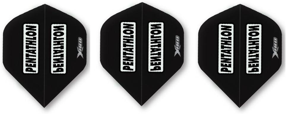 Standard Shape Dart Flights White H9-28 Pentathlon HD150