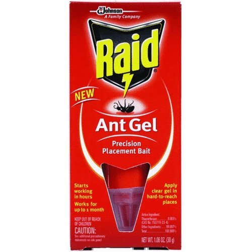 Raid Ant Bait Gel, 1.06oz, Pack of 2