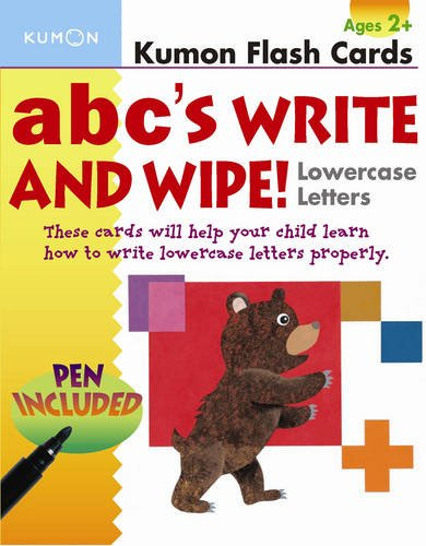 Download ABC's Lowercase Write and Wipe Flash Cards pdf