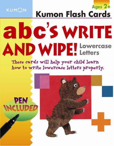 ABC's Lowercase Write and Wipe Flash Cards pdf epub
