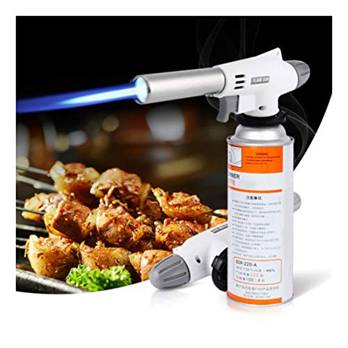 Jeeke Butane Lighter Kitchen Cooking Torch Portable Butane Torch Camping BBQ Lighter Head - Shipping from USA