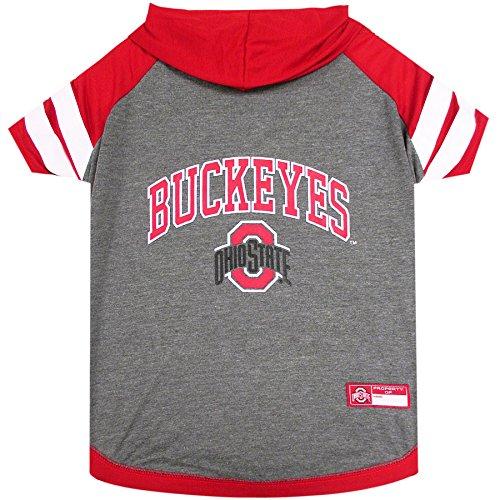 Ohio State University Doggy Hooded Tee-Shirt (Medium)