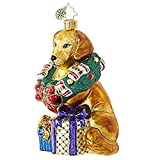 Christopher Radko This Retriever Gets It! Animal Christmas Ornament