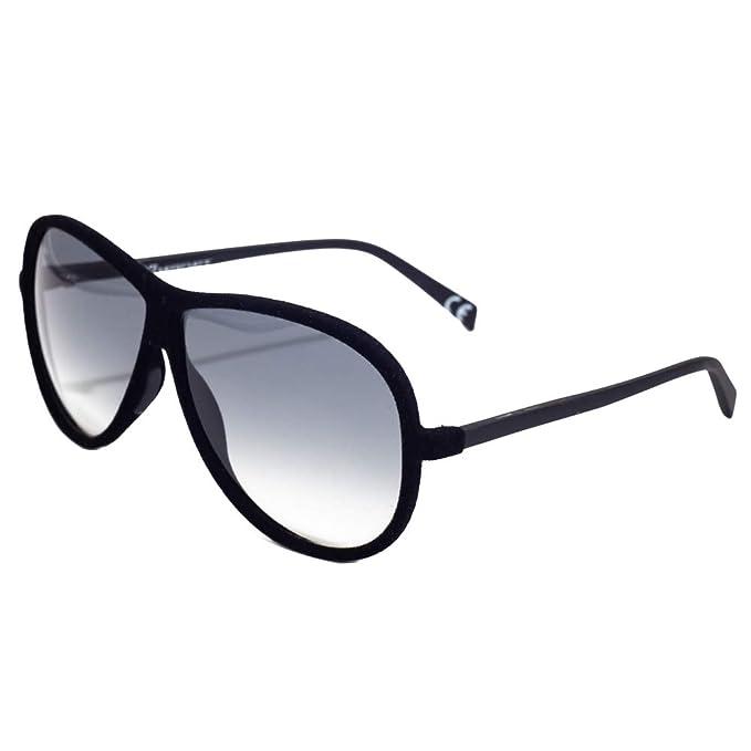 italia independent 0030V-009-000 Gafas de Sol, Negro, 60 ...