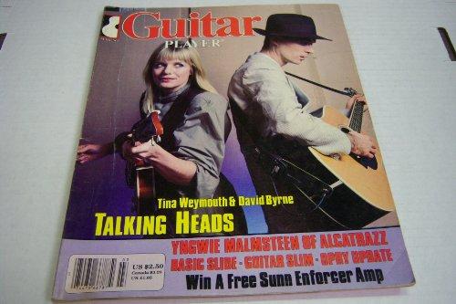 Guitar Player March 1984 Tina Weymouth & David Byrne Talking Heads (Guitar Player)