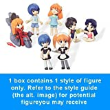 : Neon Genesis Evangelion Toricolle! DX Mini Figure (1 set of 8 blind boxes - include all 8 styles from the series) (Japanese Imported)
