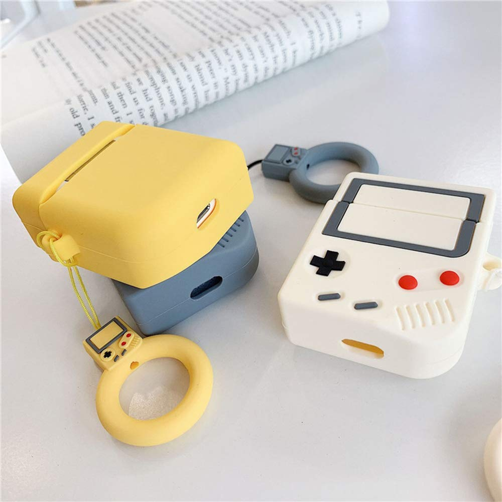 Funda para Airpods 1 y 2, Lozeguyc 3D Cute Creative Game Boy ...