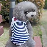 Pink Lizard Summer Dog Clothes Cat Dog Waistcoat School Uniform Puppy Dog Vest