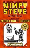 wimpy steve book 9 portal panic an unofficial minecraft diary book minecraft diary wimpy steve