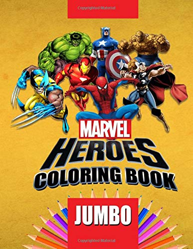 Marvel Heroes UMBO Coloring Book: Coloring Book for Kids and Adults ...