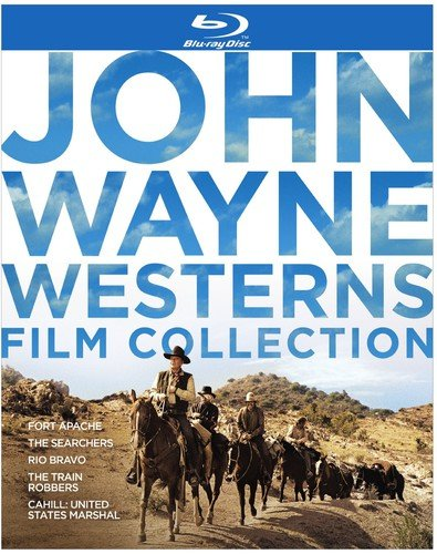 john wayne westerns film collection blu ray
