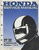 1988-1995 HONDA MOTORCYCLE SHADOW VLX SERVICE MANUAL (216)