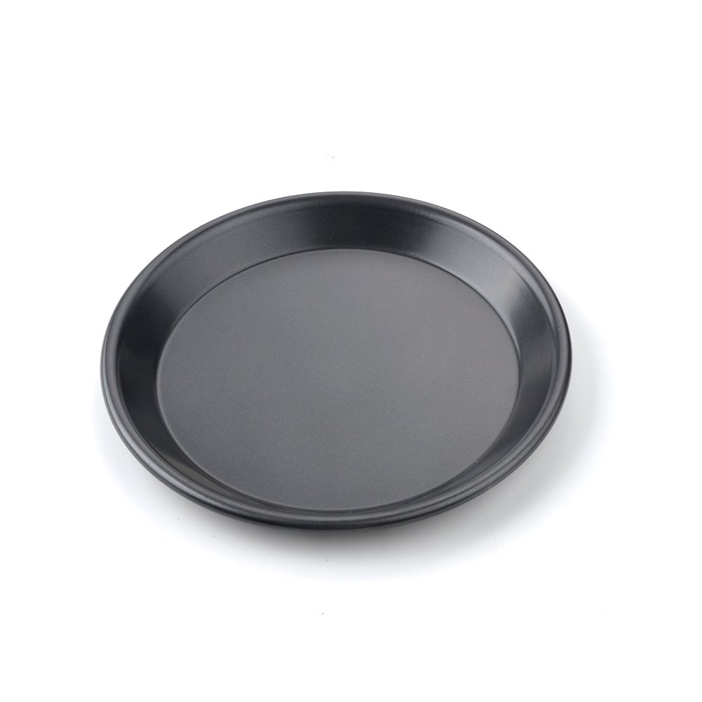 Pizza Baking Dish, Pizza Pie Baking Plate Non-Stick Aluminum Shallow Baking Mold Cook Cookware Baking Pans for Home Kitchen(7Inch, Shallow Dish) GEZICHTA
