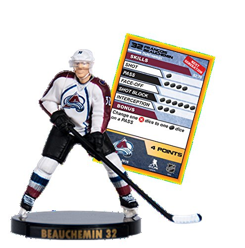 2016 NHL 2.5' Figure - Fracois Beauchemin - Colorado Avalanche (Common)