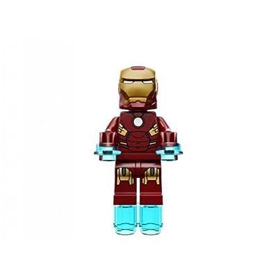 Lego Super Heroes Iron Man Mark 7 Minifigure: Toys & Games