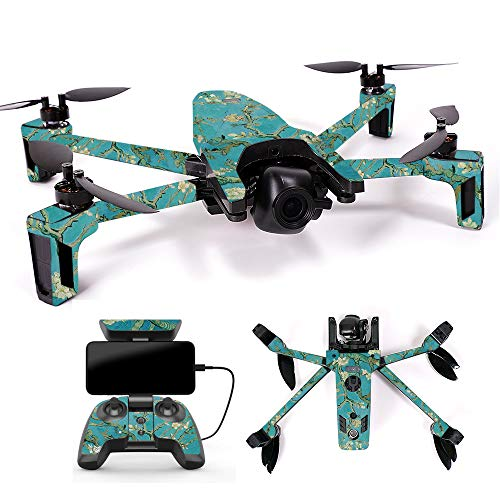 MightySkins Skin for Parrot Anafi Drone – Almond Blossom | Protective, Durable, and Unique Vinyl Decal wrap Cover | Easy to Apply, Remove, and Change Styles | Made in The USA For Sale