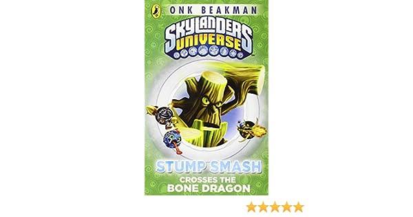 Skylanders Mask Of Power Stump Smash Crosses The Bone Dragon Book