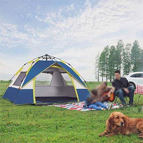 Tentes Camping 2-3 Personnes Légère randonnée Tentes for randonnée Camping en Plein air Voyage, imperméable Pestproof Coupe-Vent Double Couche Tente dôme