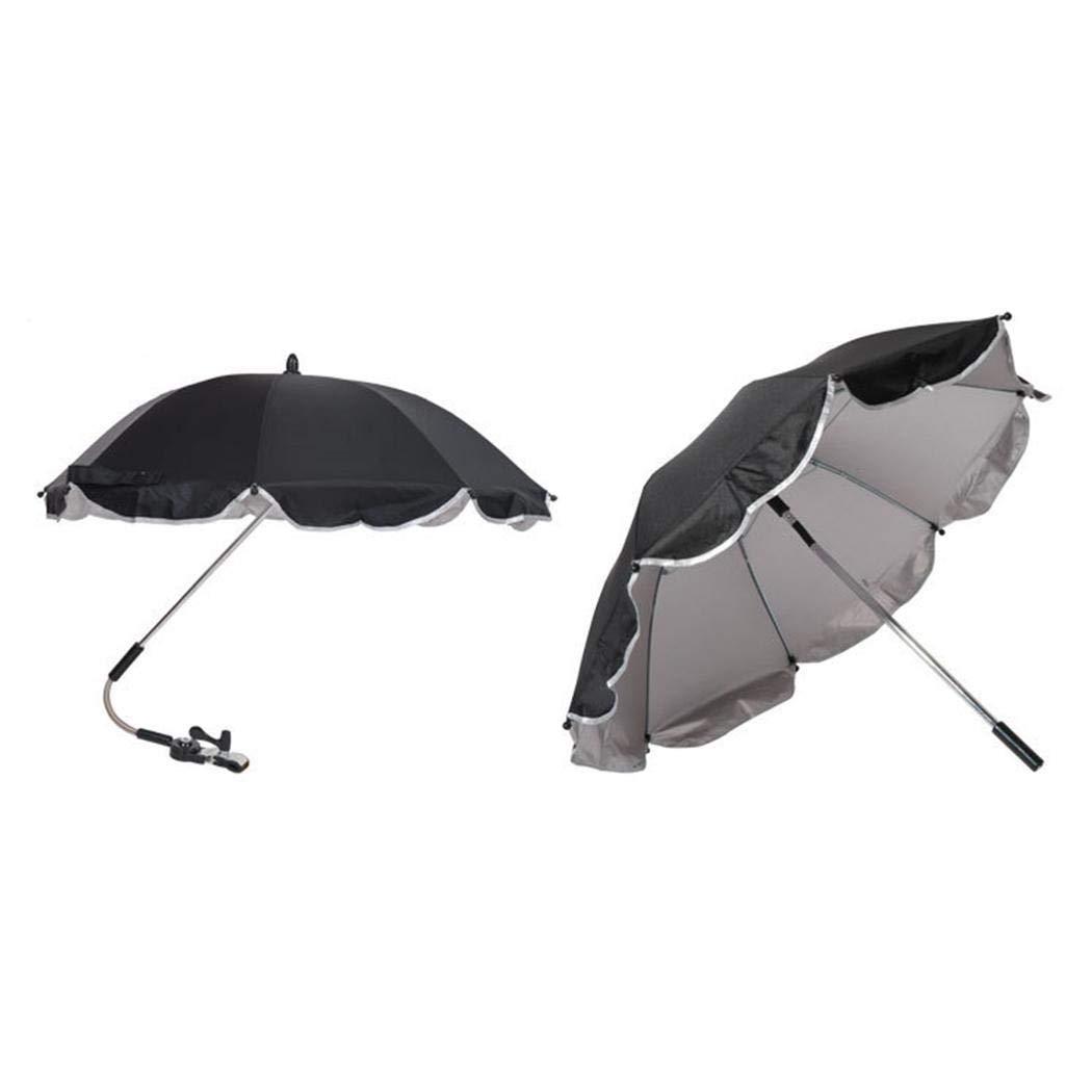 Pinsparkle Durable Folding Solid Pushchair Sun Umbrella Pram Umbrella Sun Protection by Pinsparkle (Image #1)