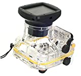 EACHSHOT 40M 130FT WP-DC44 Waterproof Underwater Housing Case For Canon Powershot G1X Camera as Replacement for WP-DC44