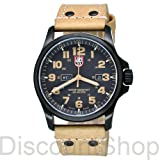 Luminox Men's Atacama Field 1920 Series Genuine Leather Watch - Light Brown