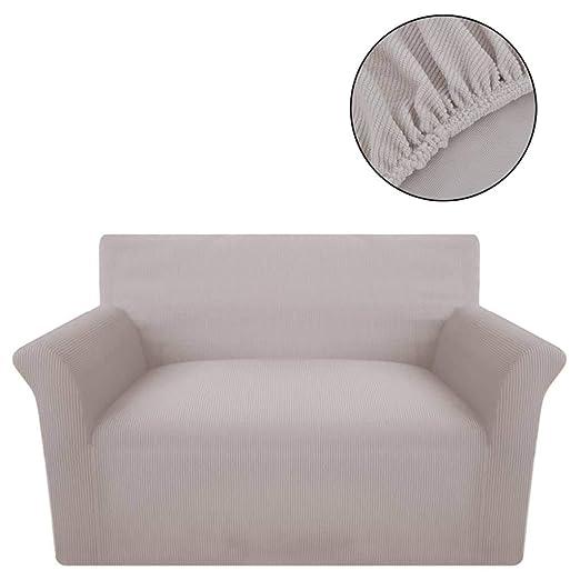 Zora Walter Funda elástica para sofá de Tela Acanalada Color ...